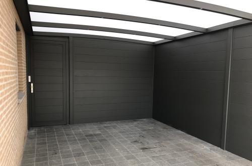 Carport avec abris 2