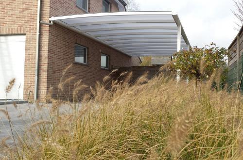 Carport met plat dak 7