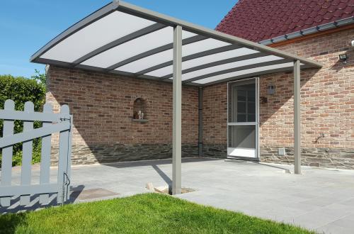 Carport met plat dak 5