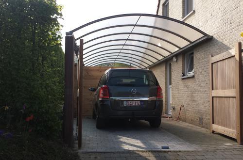 Carport met gebogen dak 3