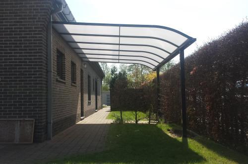 Carport avec toiture de véranda 6