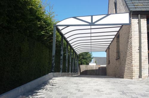Carport avec toiture de véranda 2