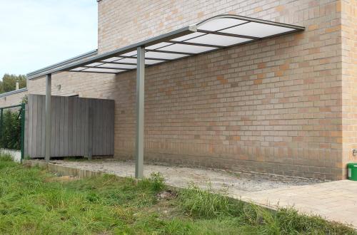 Carport avec toiture de véranda 3
