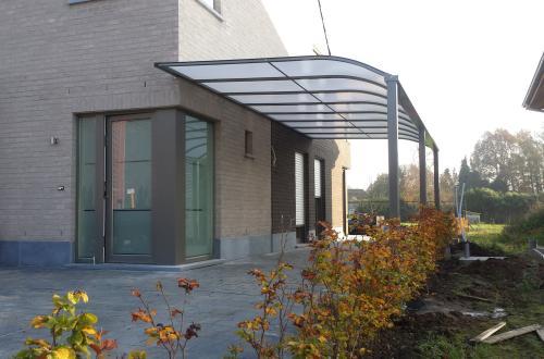 Carport avec toiture de véranda 4