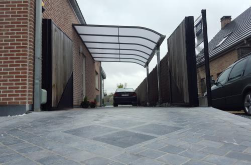 Carport avec toiture de véranda 5